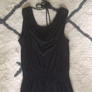 Black tank dress Size medium